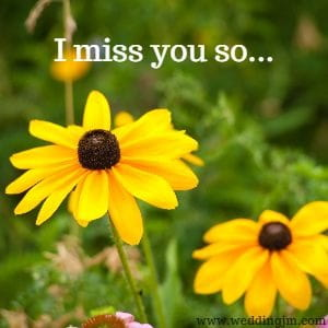 I miss you so...