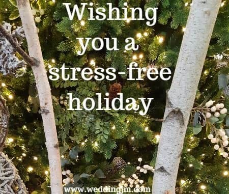 Wishing you a stress-free holiday