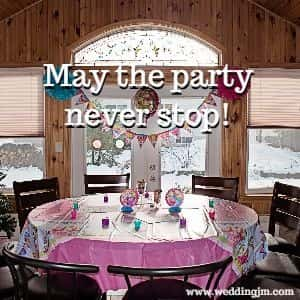 May the party never stop!